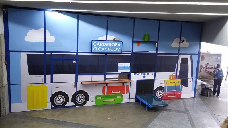 Luggage storage - Autobusni kolodvor Zagreb