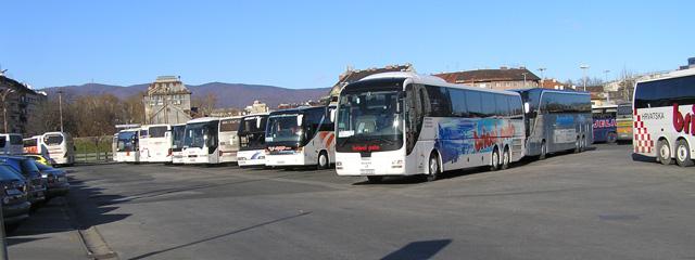 Autobusni Kolodvor Zagreb Bus Parking Lot